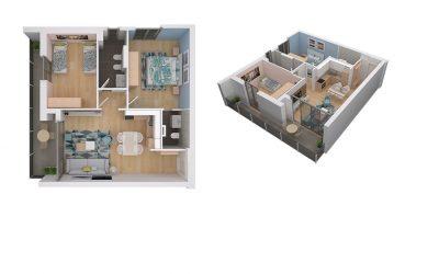"""Rezervoni SOT apartamentin 2+1 në """"Fiori di Bosco"""""""